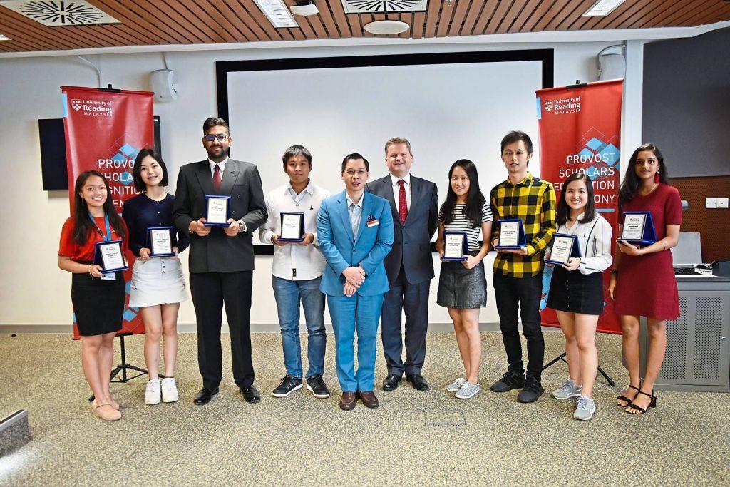 Reading University Provost's Award