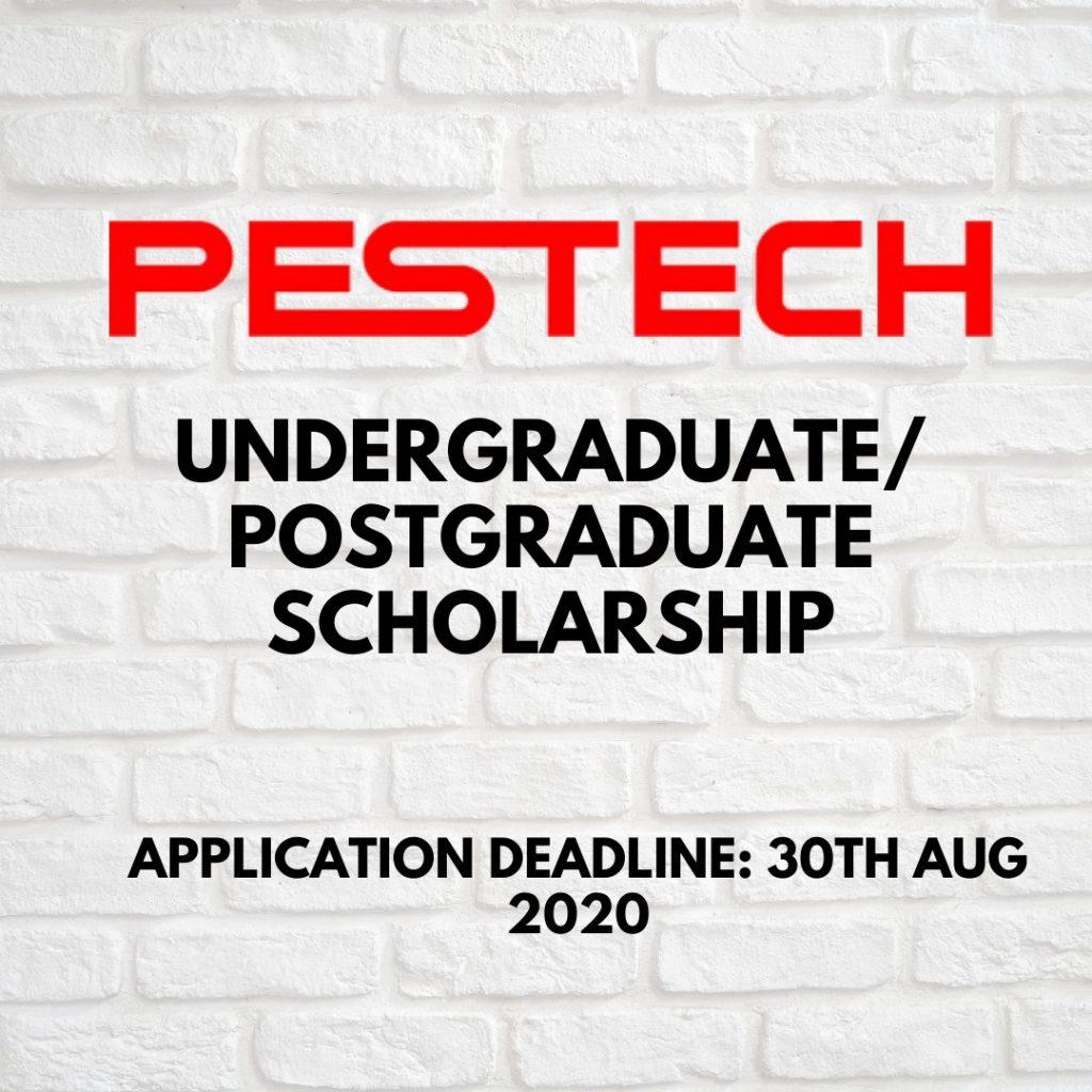 PESTECH Undergraduate / Postgraduate Scholarship
